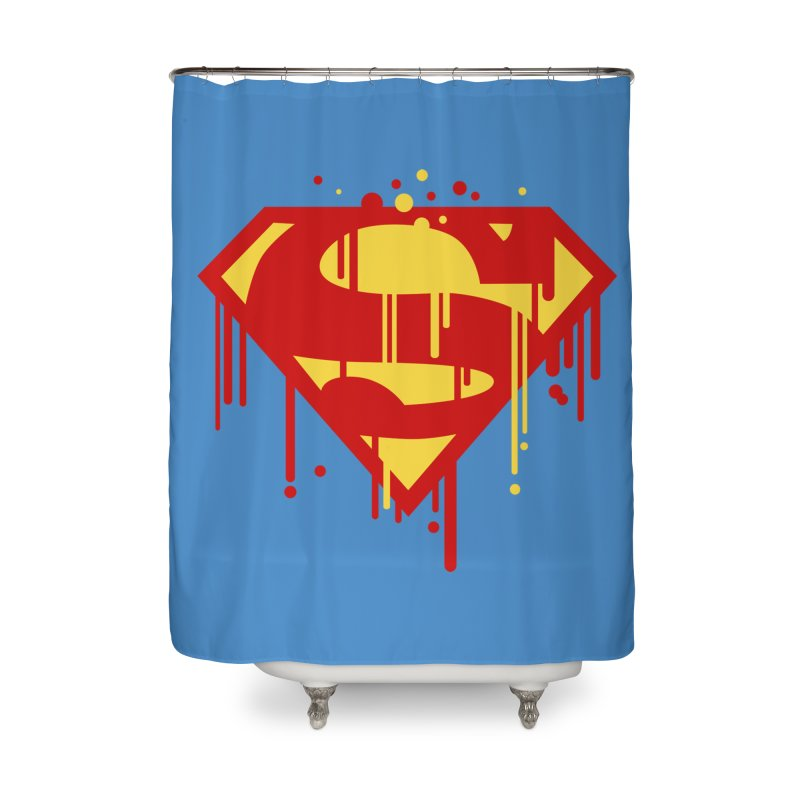 superman symbol Home Shower Curtain by ben35dan's Artist Shop