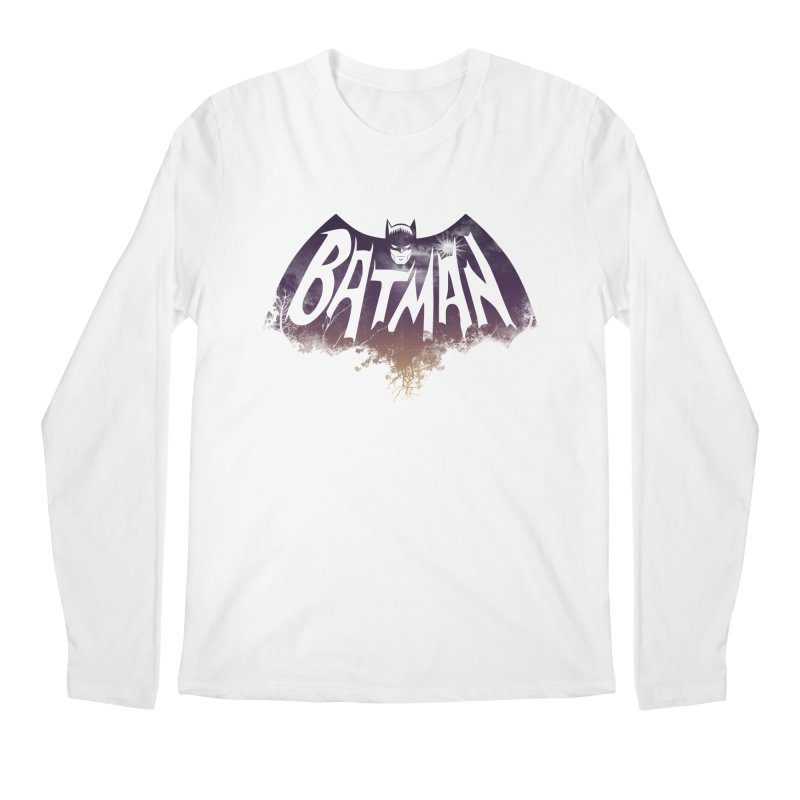 the dark knight Men's Longsleeve T-Shirt by ben35dan's Artist Shop