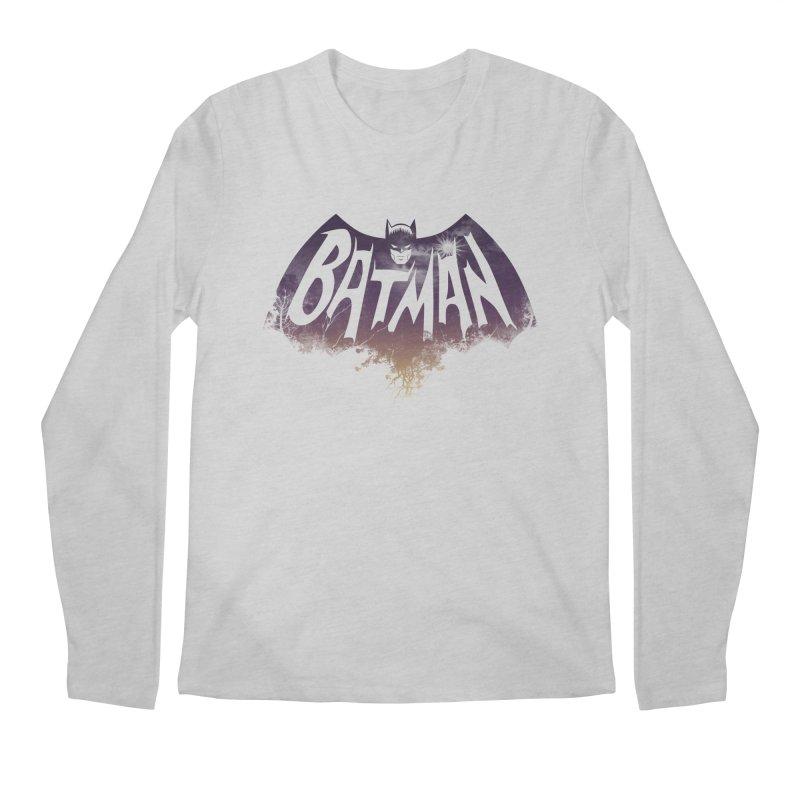the dark knight Men's Longsleeve T-Shirt by ben35dan's Artist Shop