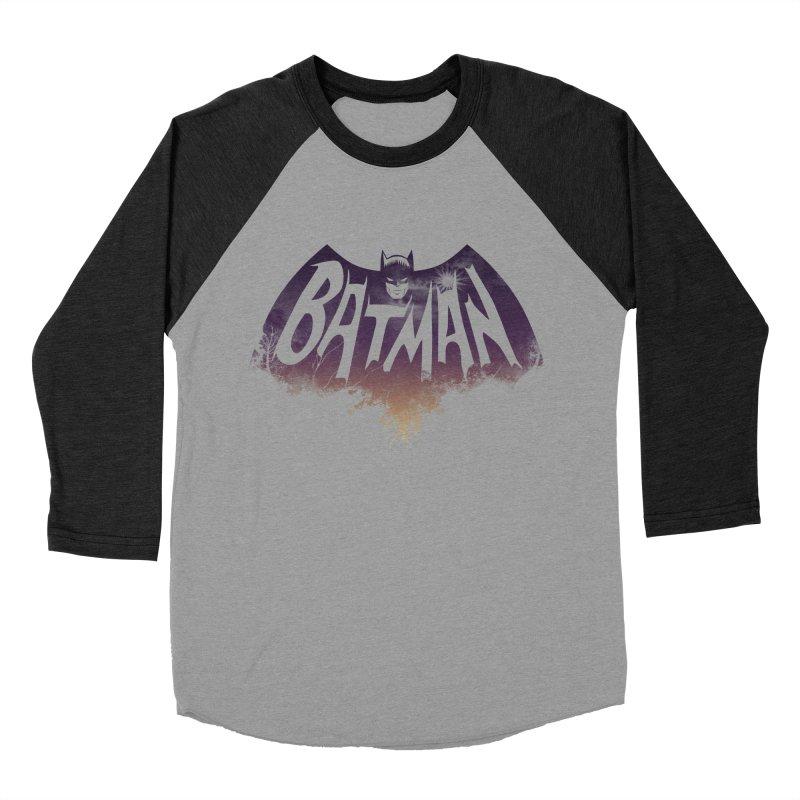 the dark knight Men's Baseball Triblend T-Shirt by ben35dan's Artist Shop