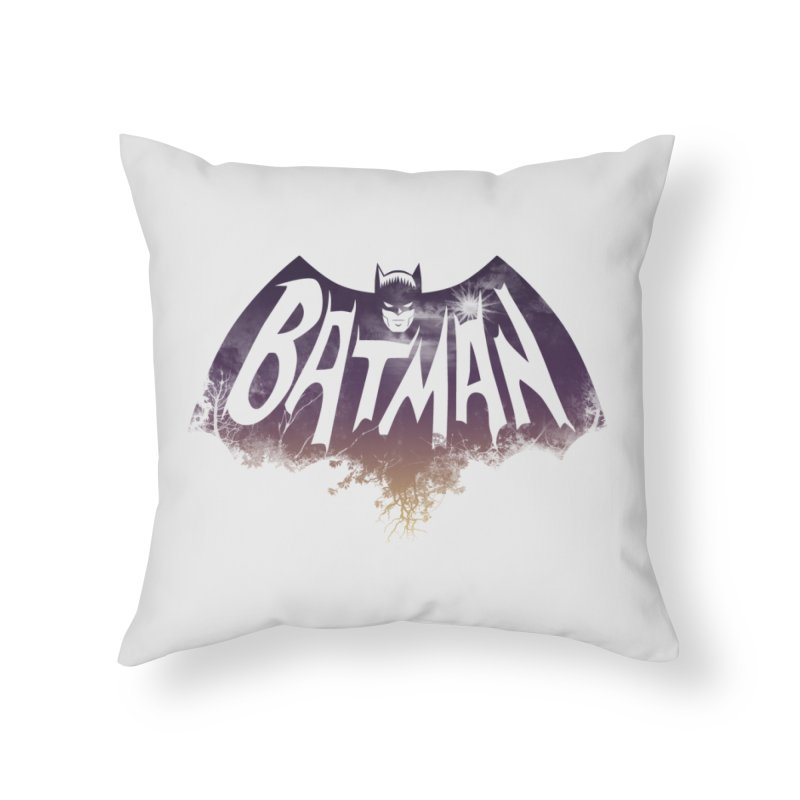 the dark knight Home Throw Pillow by ben35dan's Artist Shop