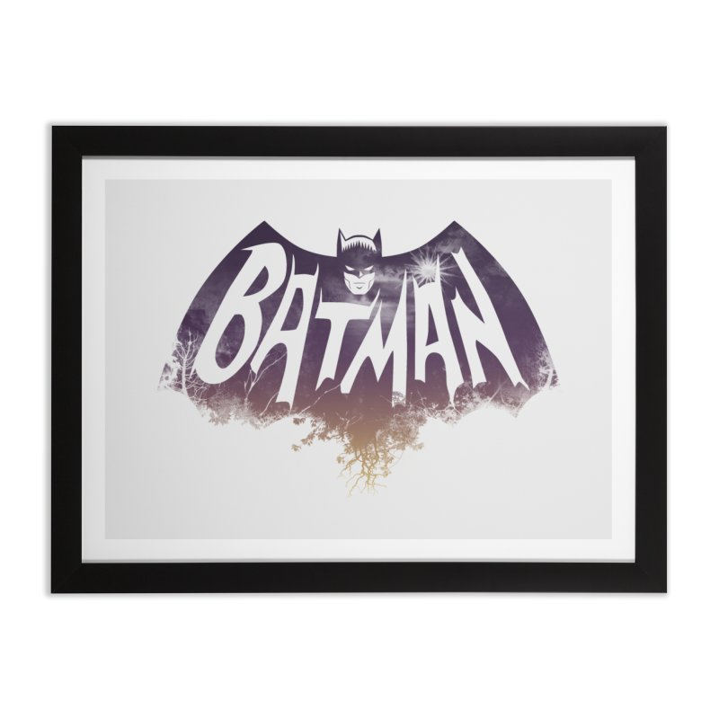 the dark knight Home Framed Fine Art Print by ben35dan's Artist Shop