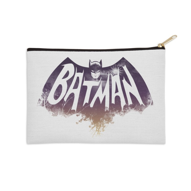 the dark knight Accessories Zip Pouch by ben35dan's Artist Shop