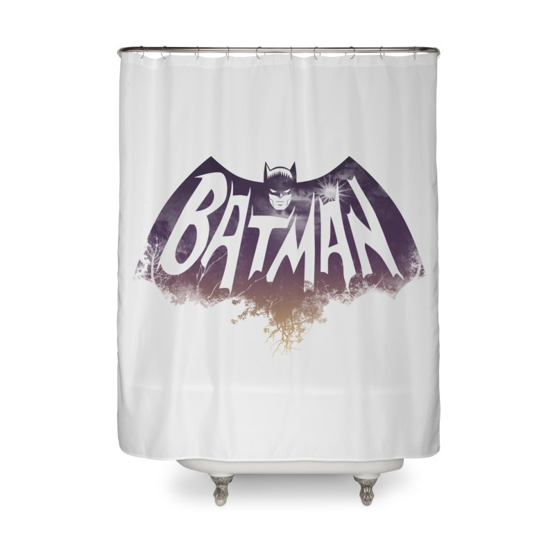 the dark knight Home Shower Curtain by ben35dan's Artist Shop