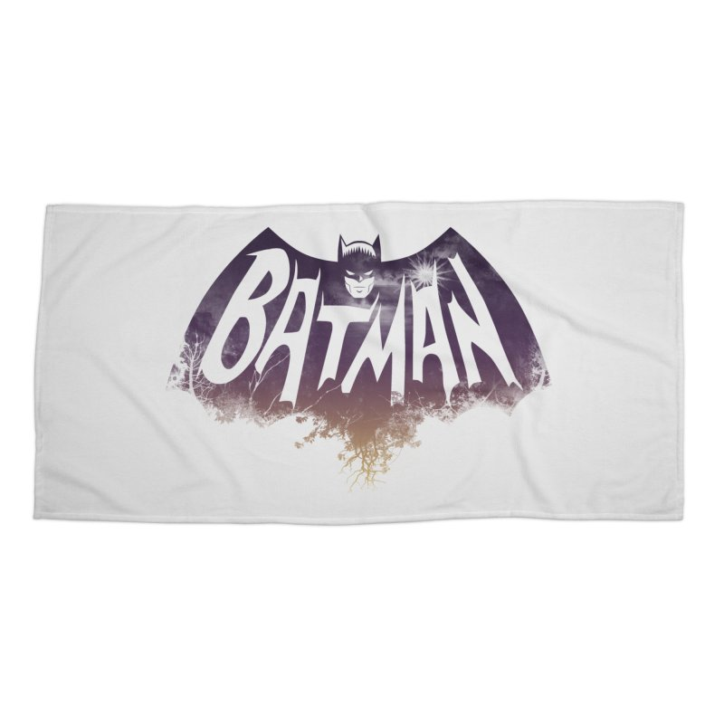 the dark knight Accessories Beach Towel by ben35dan's Artist Shop
