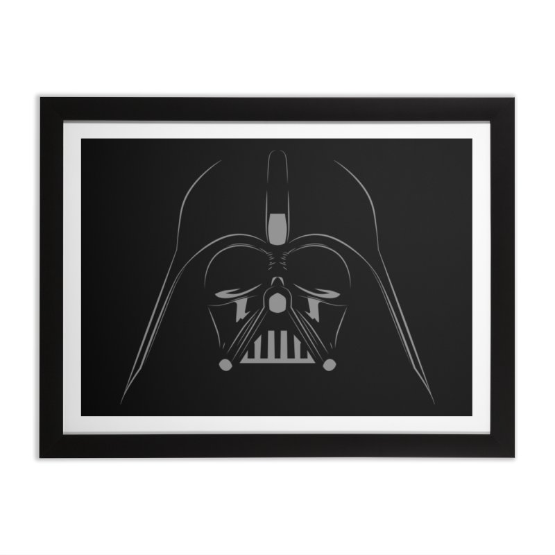 darth vader Home Framed Fine Art Print by ben35dan's Artist Shop