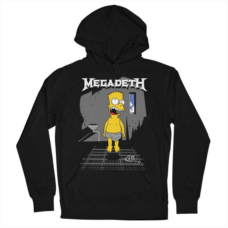 megadeath bart simpson Men's Pullover Hoody by ben35dan's Artist Shop