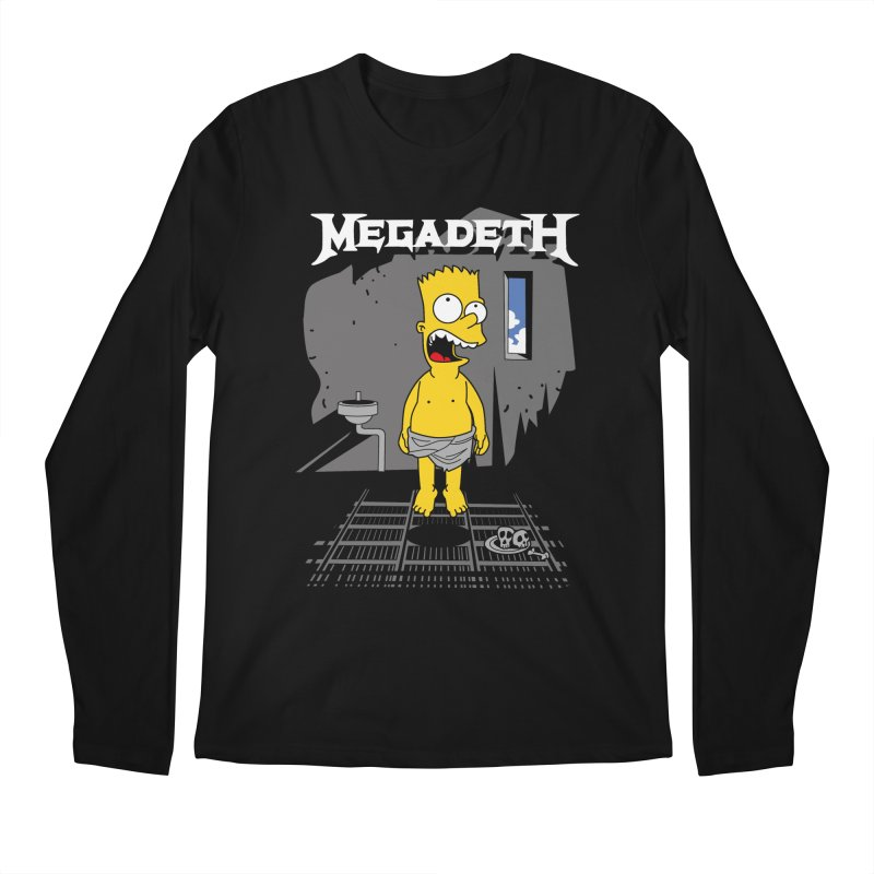megadeath bart simpson Men's Longsleeve T-Shirt by ben35dan's Artist Shop