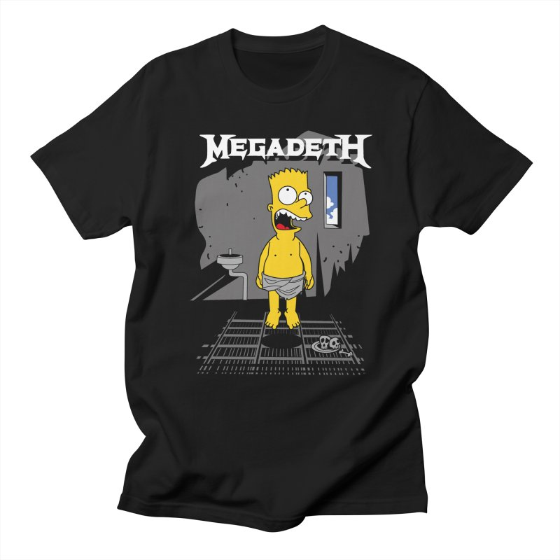 megadeath bart simpson Men's T-shirt by ben35dan's Artist Shop