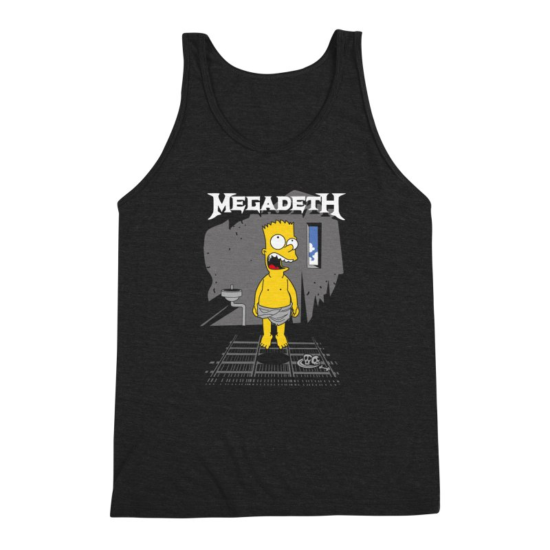 megadeath bart simpson Men's Triblend Tank by ben35dan's Artist Shop