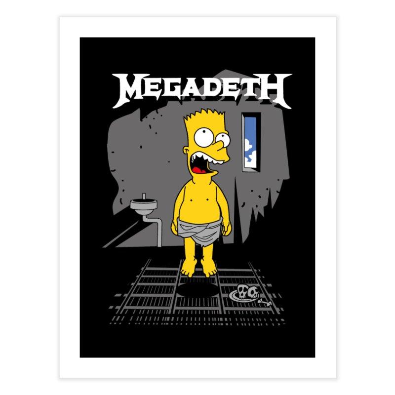 megadeath bart simpson   by ben35dan's Artist Shop