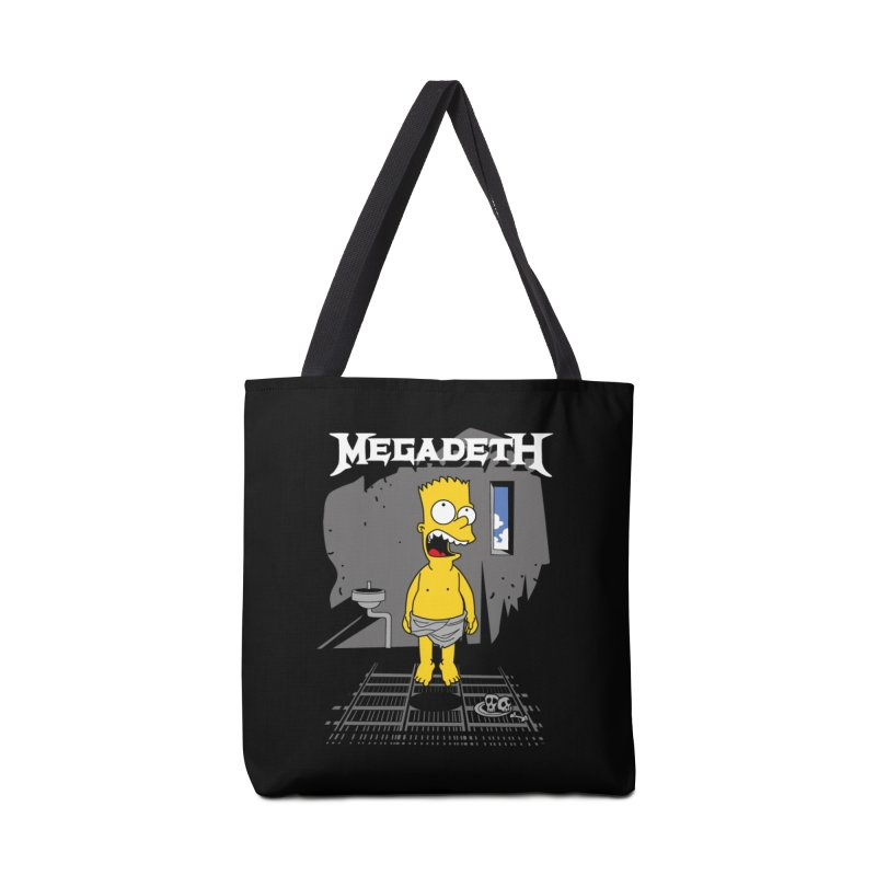 megadeath bart simpson Accessories Bag by ben35dan's Artist Shop