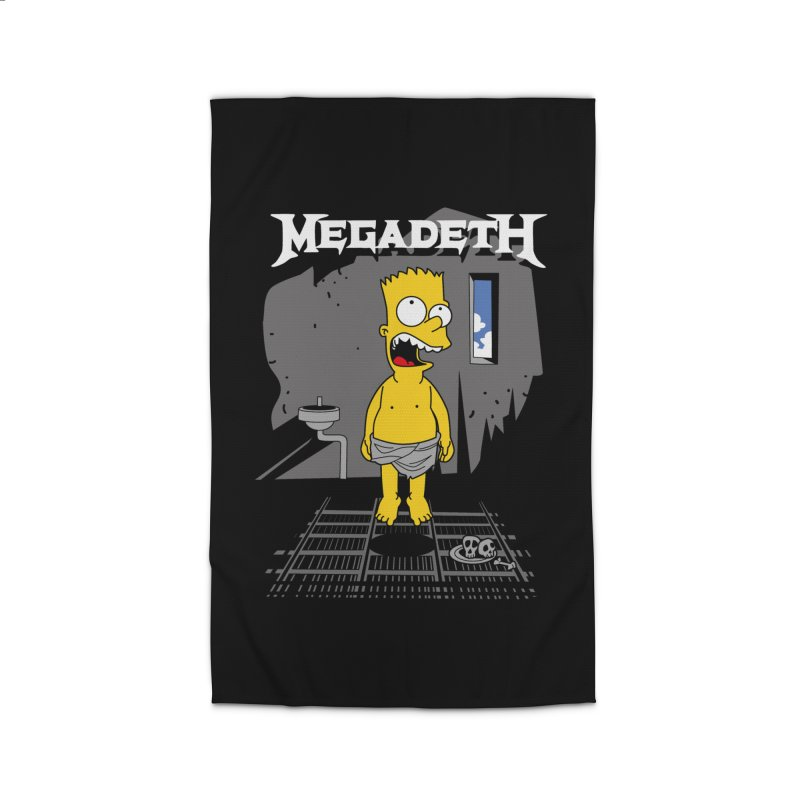 megadeath bart simpson Home Rug by ben35dan's Artist Shop