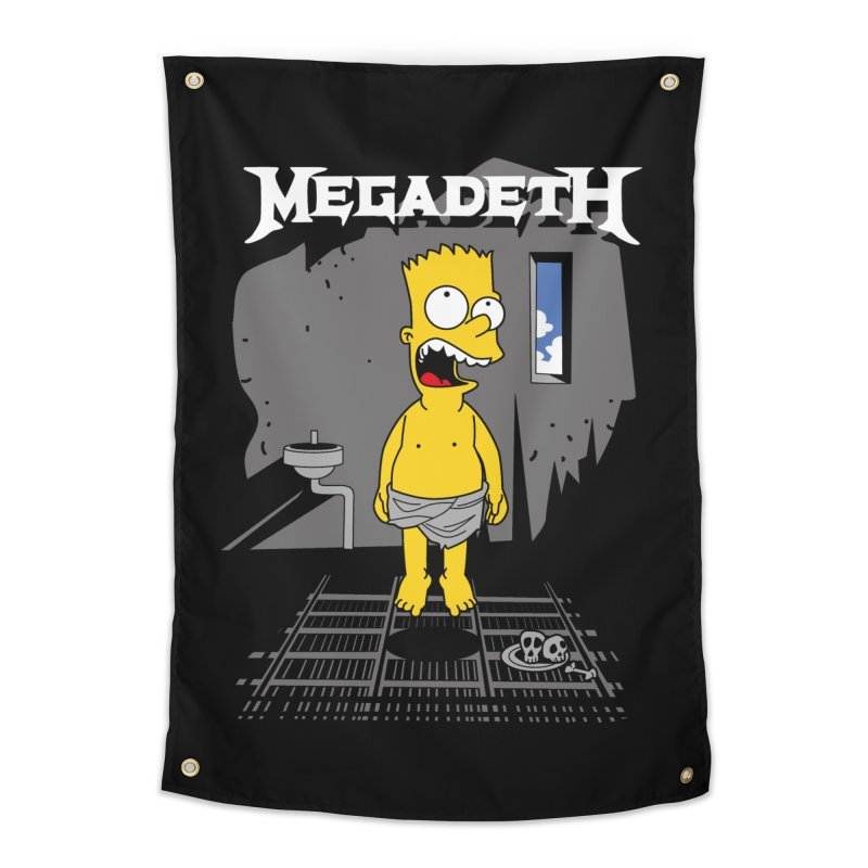 megadeath bart simpson Home Tapestry by ben35dan's Artist Shop