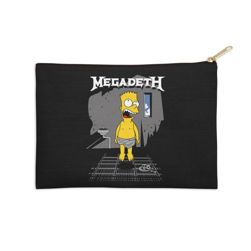 megadeath bart simpson Accessories Zip Pouch by ben35dan's Artist Shop