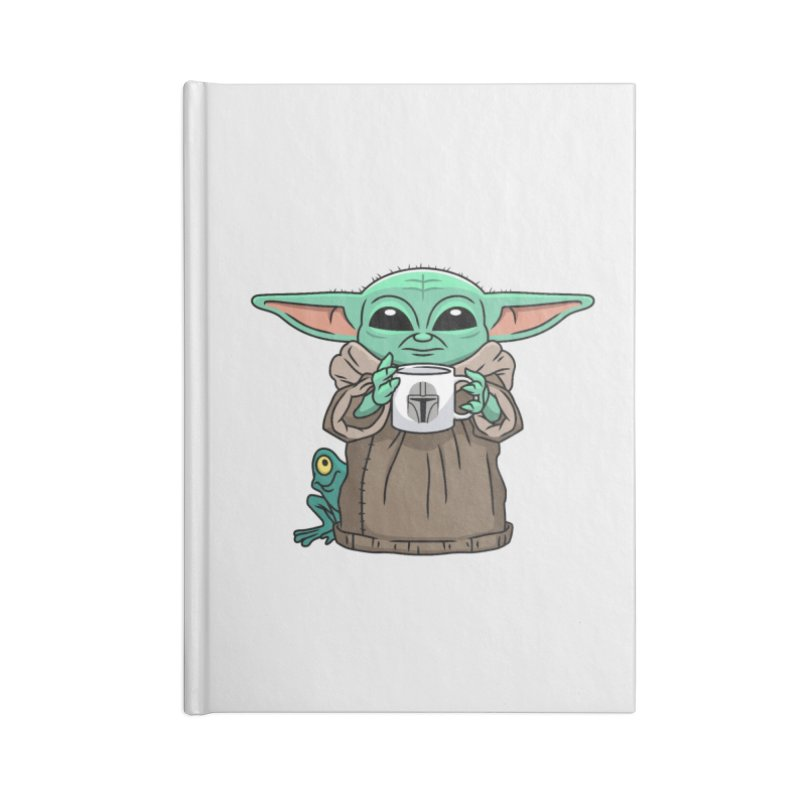 The Child Sips Accessories Lined Journal Notebook by Ben Douglass
