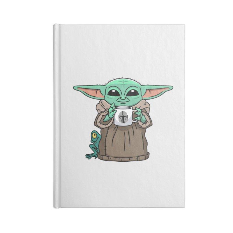 The Child Sips Accessories Blank Journal Notebook by Ben Douglass