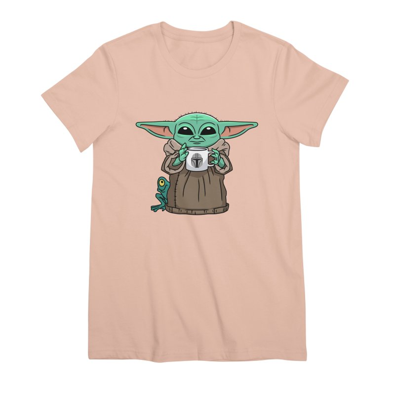 The Child Sips Women's Premium T-Shirt by Ben Douglass