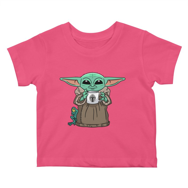 The Child Sips Kids Baby T-Shirt by Ben Douglass