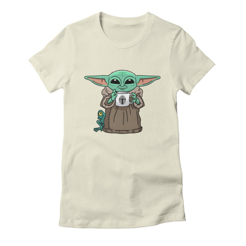 The Child Sips Women's Fitted T-Shirt by Ben Douglass