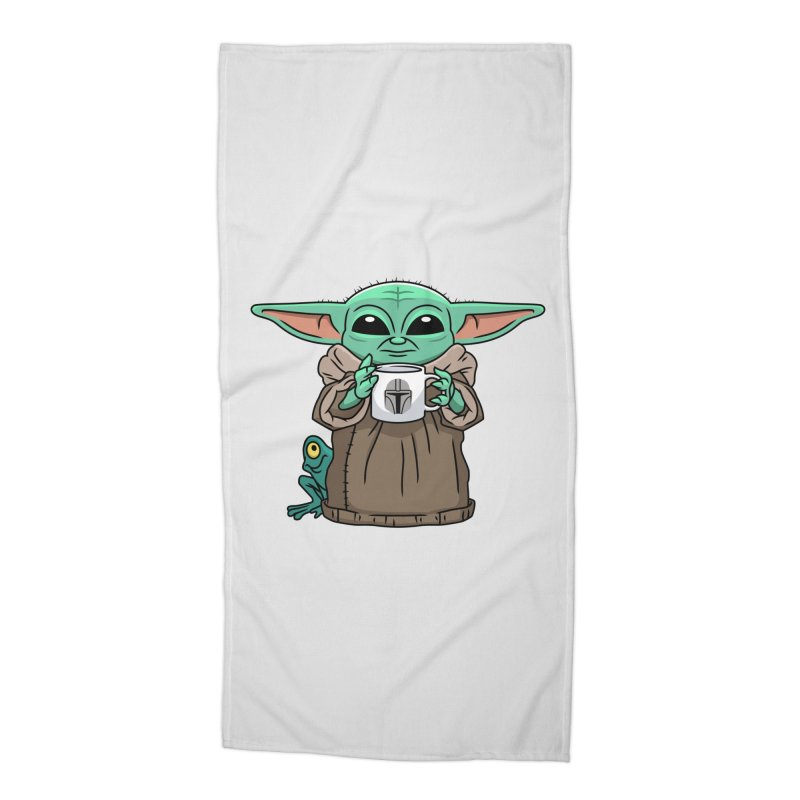 The Child Sips Accessories Beach Towel by Ben Douglass