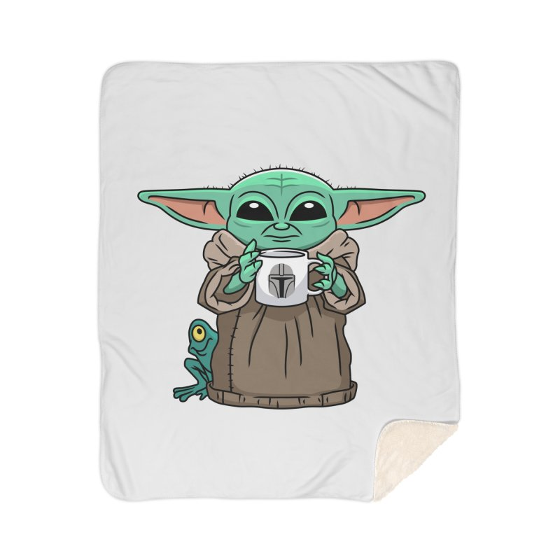 The Child Sips Home Sherpa Blanket Blanket by Ben Douglass