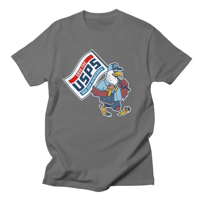 Save the USPS Men's T-Shirt by Ben Douglass