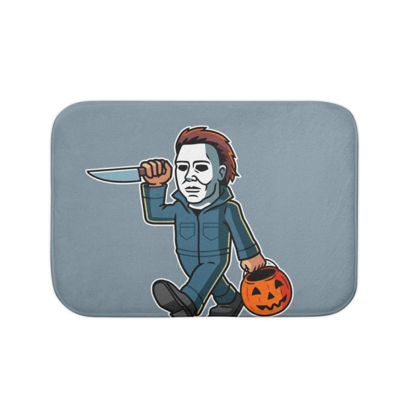 Michael Myers Home Bath Mat by Ben Douglass