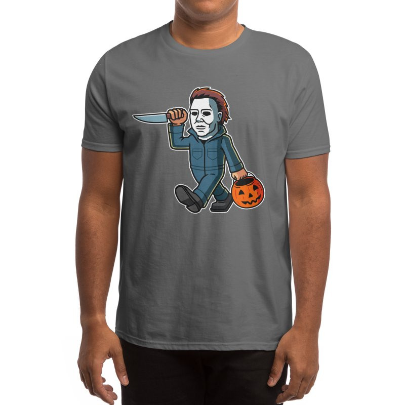 Michael Myers Men's T-Shirt by Ben Douglass