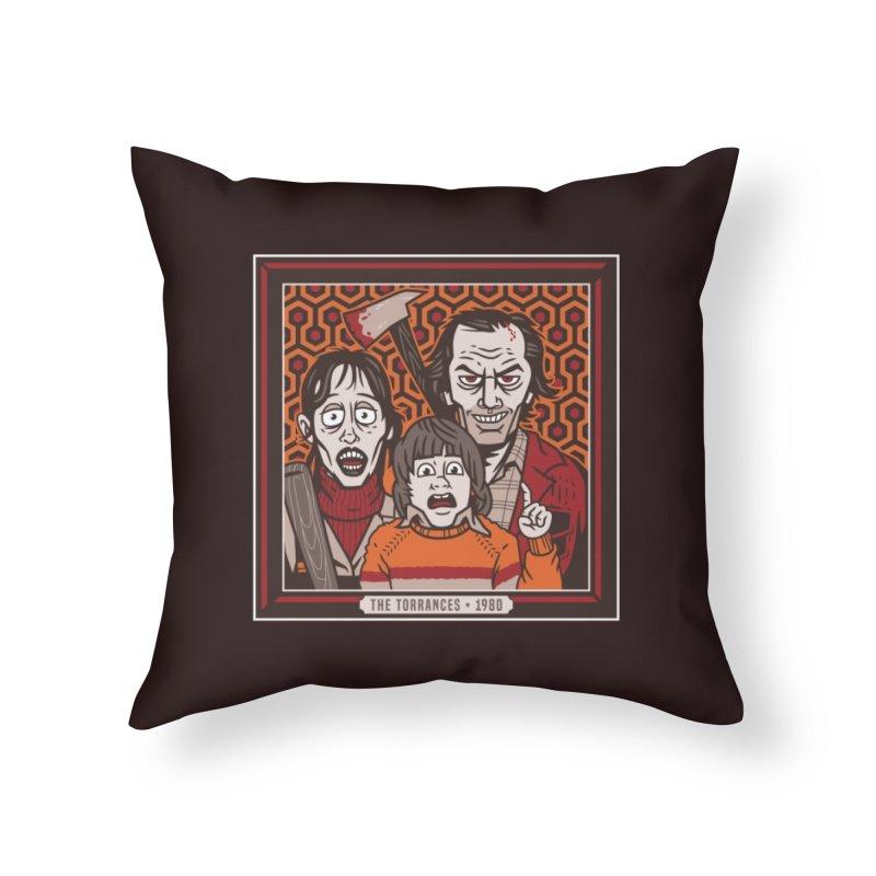 The Torrances Home Throw Pillow by Ben Douglass