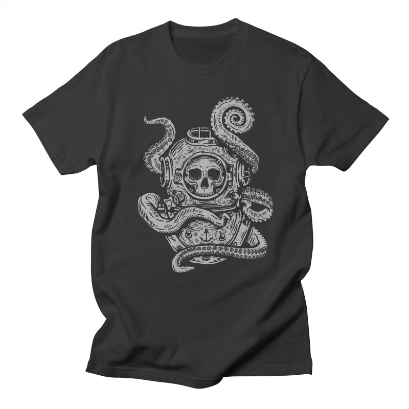 Dead Diver Men's T-Shirt by Ben Douglass