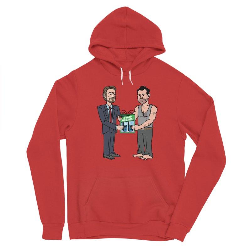 2-Way Radios! Men's Pullover Hoody by Ben Douglass