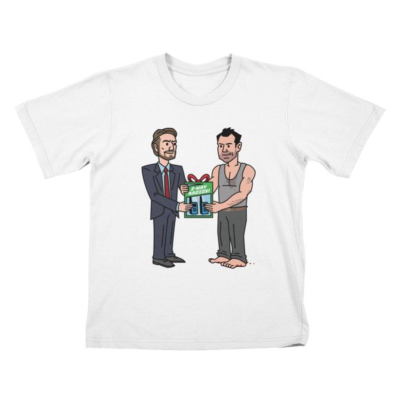 2-Way Radios! Kids T-Shirt by Ben Douglass