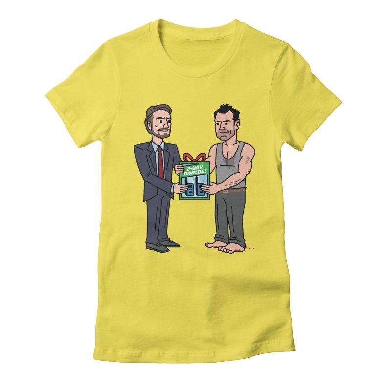 2-Way Radios! Women's T-Shirt by Ben Douglass