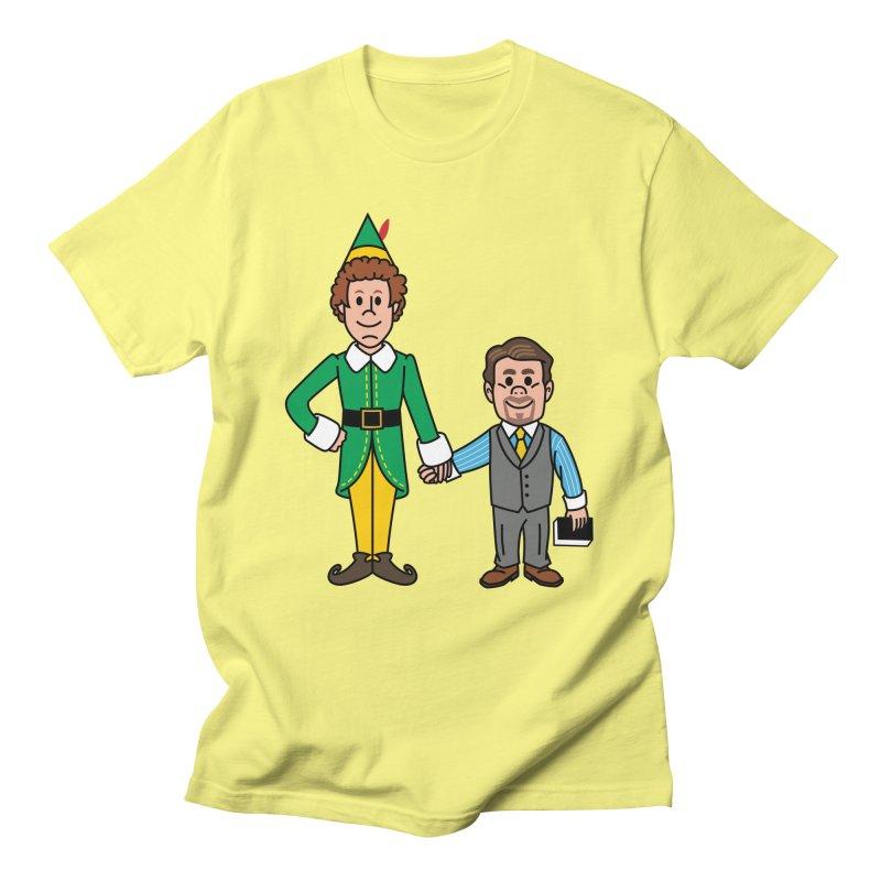 Angry Elves Men's T-Shirt by Ben Douglass