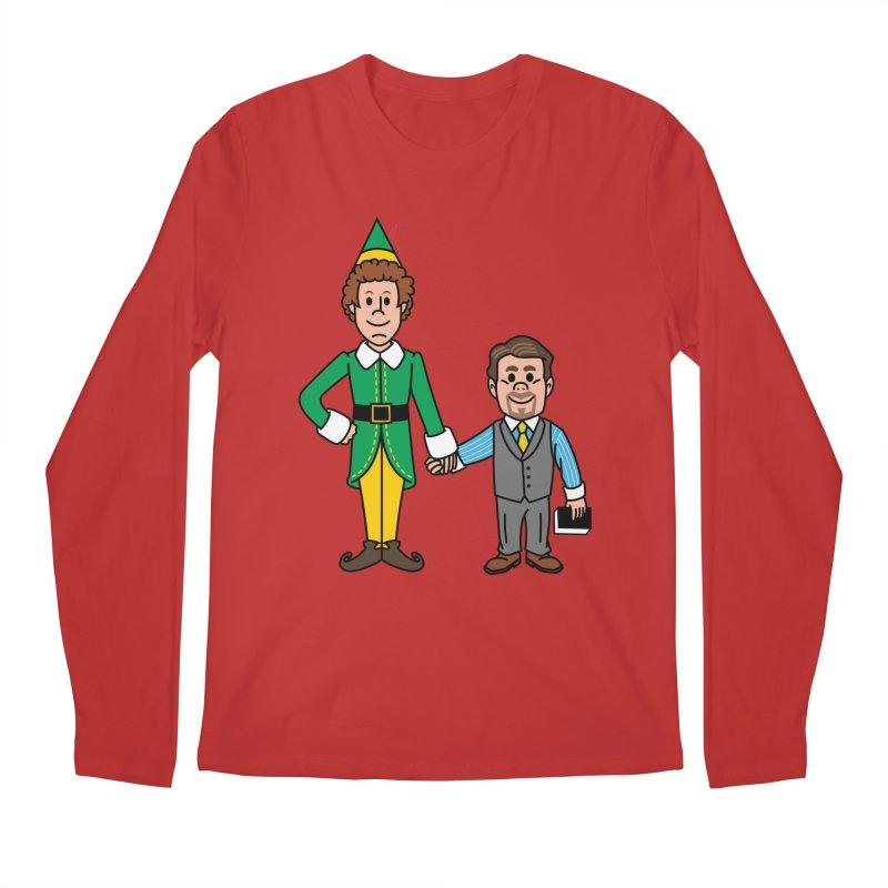 Angry Elves Men's Longsleeve T-Shirt by Ben Douglass