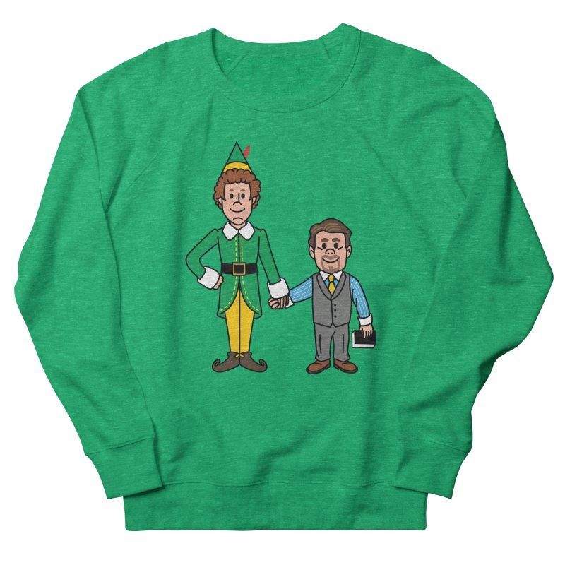 Angry Elves Women's Sweatshirt by Ben Douglass