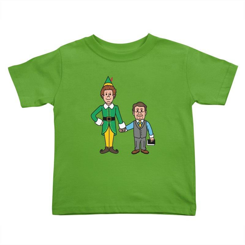 Angry Elves Kids Toddler T-Shirt by Ben Douglass