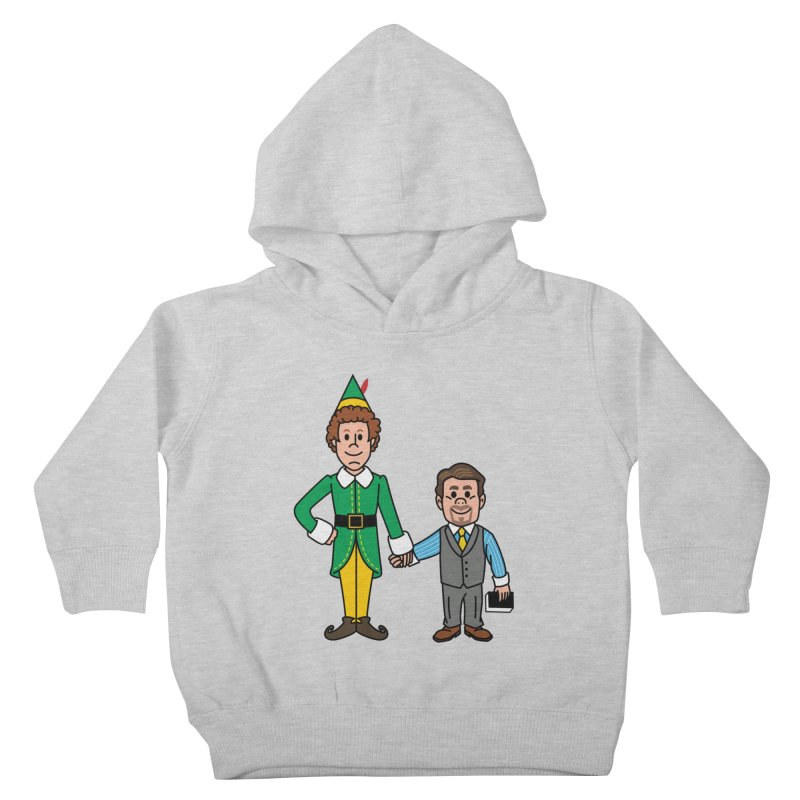 Angry Elves Kids Toddler Pullover Hoody by Ben Douglass