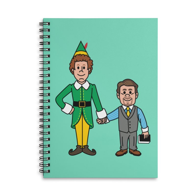 Angry Elves Accessories Notebook by Ben Douglass
