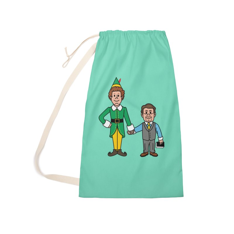 Angry Elves Accessories Bag by Ben Douglass