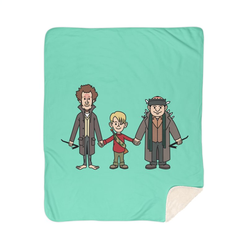 Kevin & the Bandits Home Blanket by Ben Douglass