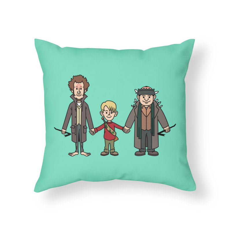 Kevin & the Bandits Home Throw Pillow by Ben Douglass