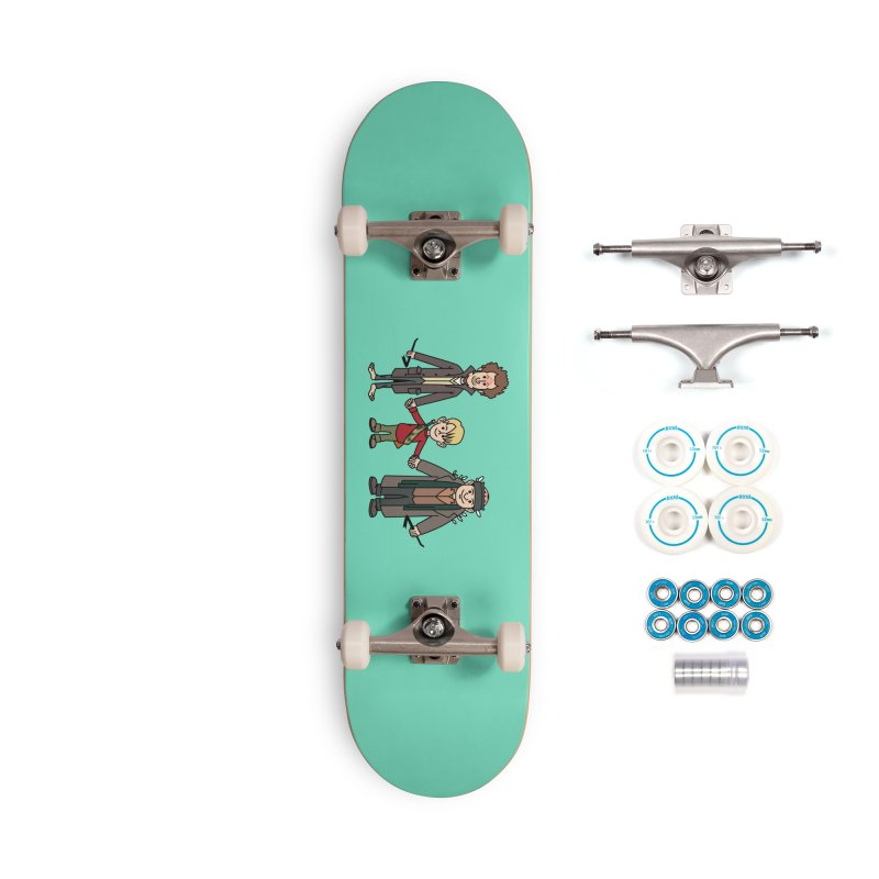 Kevin & the Bandits Accessories Skateboard by Ben Douglass