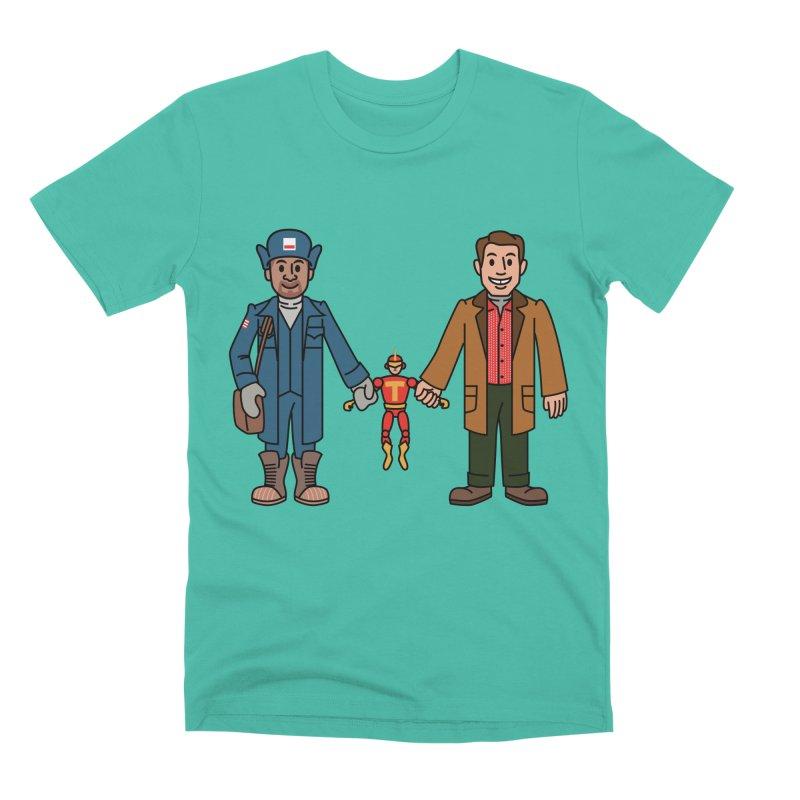 Turbo Friends Men's T-Shirt by Ben Douglass