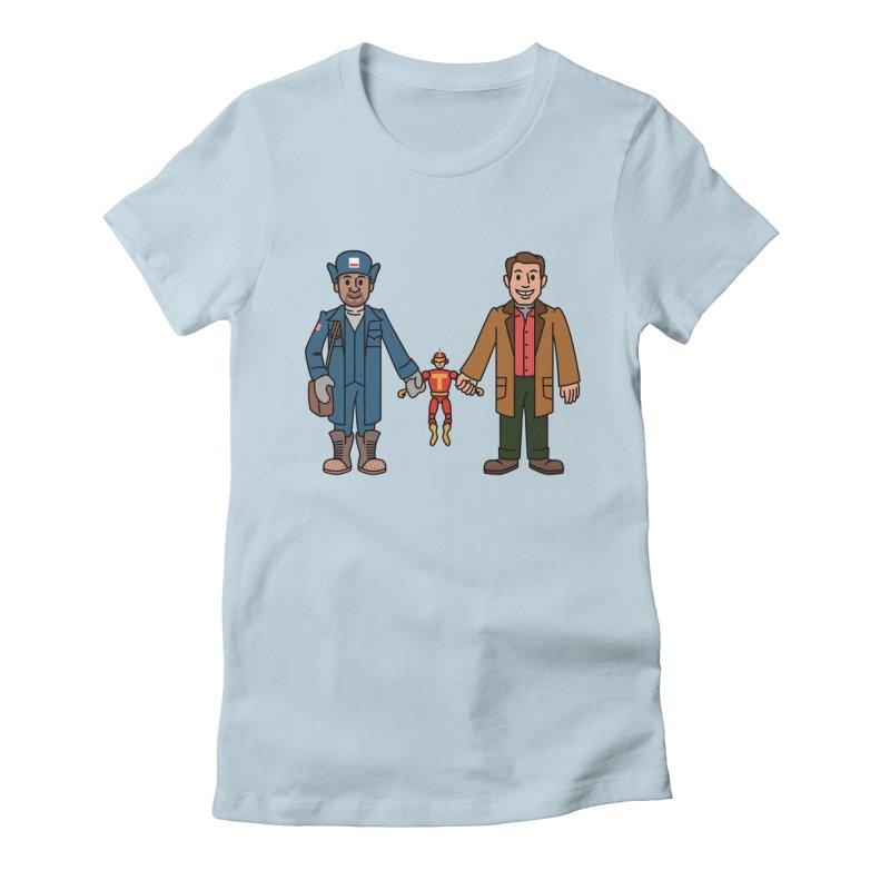 Turbo Friends Women's T-Shirt by Ben Douglass
