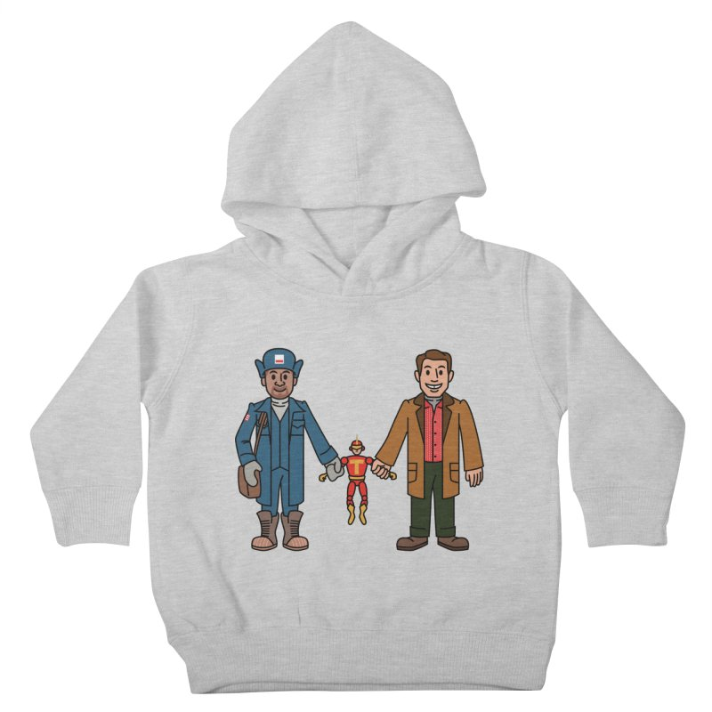 Turbo Friends Kids Toddler Pullover Hoody by Ben Douglass