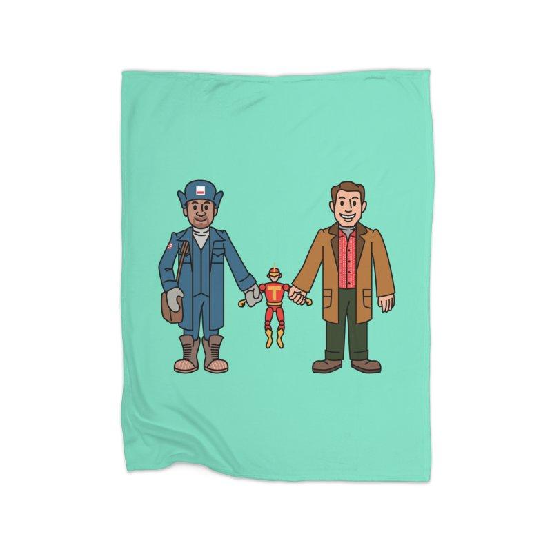 Turbo Friends Home Blanket by Ben Douglass
