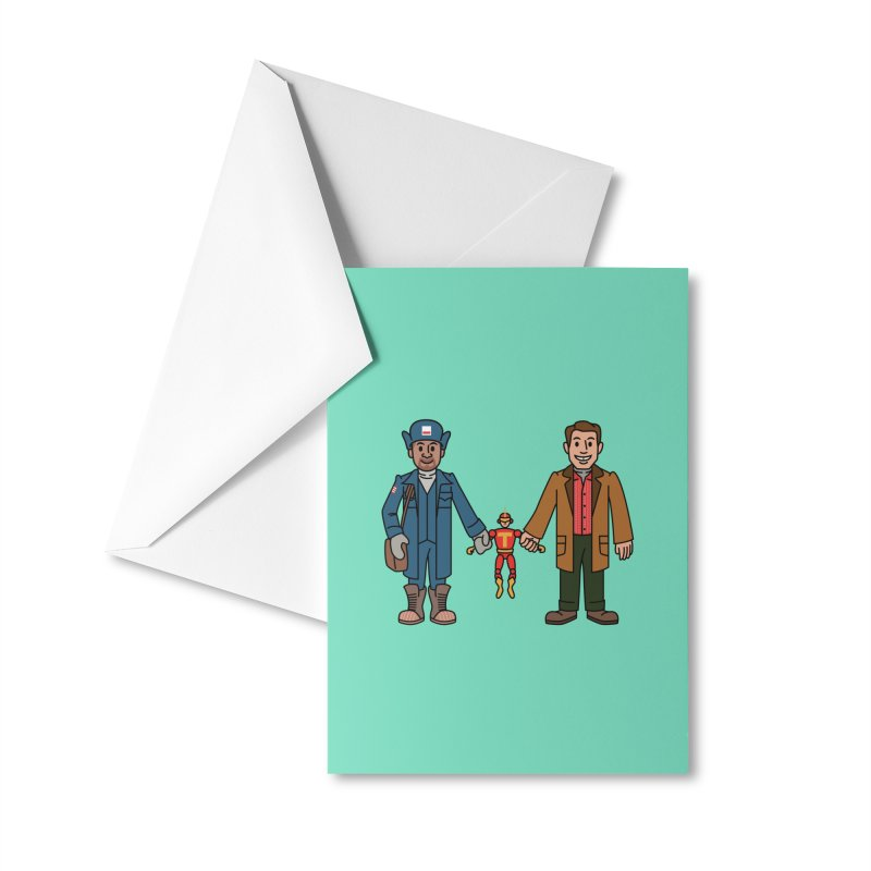 Turbo Friends Accessories Greeting Card by Ben Douglass