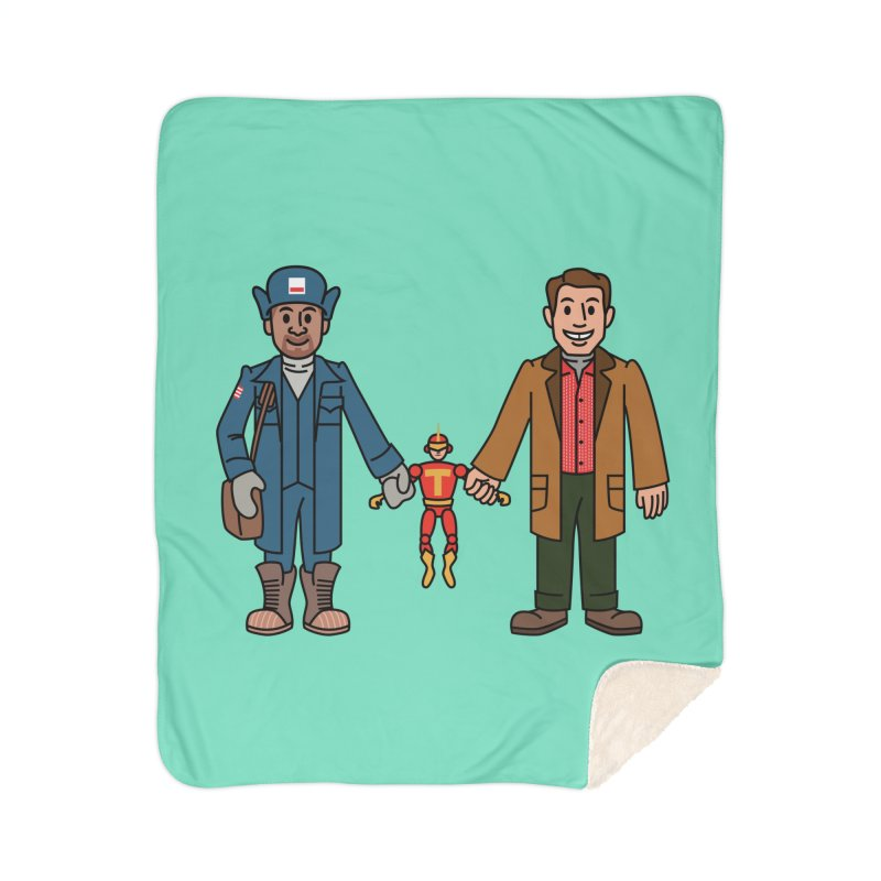 Turbo Friends Home Blanket by Ben Douglass